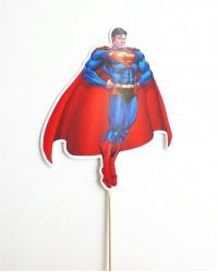 Топпер пластиковый «Супермен»