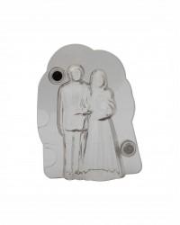 Поликарбонатная 3D форма для шоколада «Жених и Невеста»