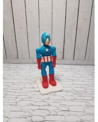 Сахарная фигурка из мастики «Капитан Америка», Казахстан