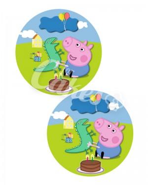 Вафельные картинки «Свинка Пеппа» (9)