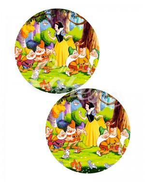 Вафельные картинки «Белоснежка и 7 гномов» (4)