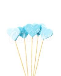 «Сердечки» на шпажках голубые для надписей, Казахстан