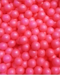 Посыпка кондитерская «Жемчуг Розовый Матовый 6 мм»