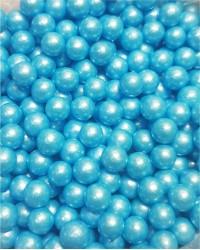 Посыпка кондитерская «Жемчуг Голубой 6 мм»