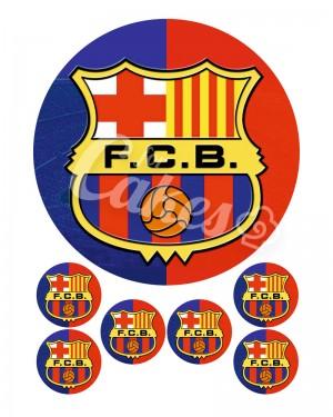 Вафельные картинки «Футбольные Клубы» (5)