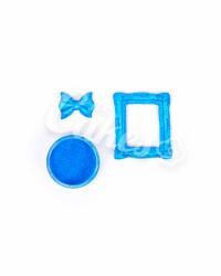 Кандурин - пищевые блестки, Цвет «Голубой Блеск»