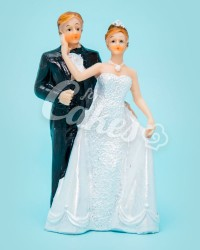 Керамические статуэтки Жениха и Невесты, 13345В