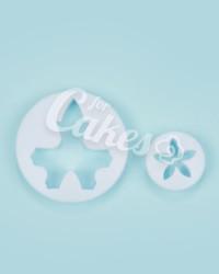 Выемка-штамп  для мастики «Лист и Цветок №1», Китай