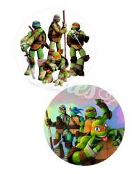 Вафельные картинки «Черепашки Ниндзя»