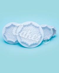 Плунжер  для мастики  «Цветок Ажурный», Китай