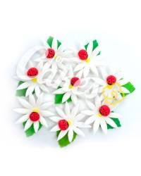 Сахарные цветы из мастики «Божьи коровки на ромашках», Казахстан