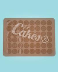 Силиконовый коврик для выпечки Макаронс и Whoopee Pie, 48 ячеек, Китай