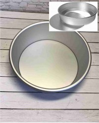 Алюминиевая форма для выпечки со съемным дном, 205х190х80 мм, 8inch