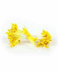 Жемчужные тычинки для цветов из мастики «Желтые», Китай
