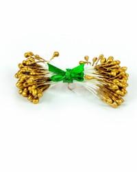 Жемчужные тычинки для цветов из мастики «Золото», Китай