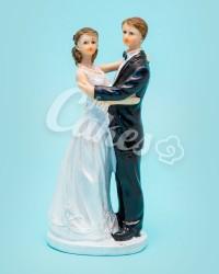 Керамические статуэтки Жениха и Невесты, 18952А