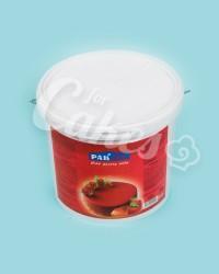 Гель кондитерский  «Клубничный», Пакнар, для зеркальной поверхности кондитерских изделий, 7 кг