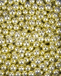 Посыпка кондитерская «Бисер Золото 5 мм»