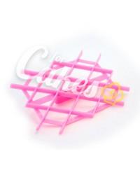 Штампик, пресс-форма  для мастики «Пуфики, Ромбы, Решетк Крупные», Китай