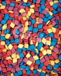 Посыпка кондитерская «Квадраты Разноцветные»