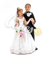 Керамические статуэтки Жениха и Невесты, 17851B