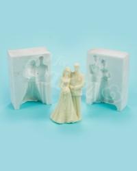Силиконовый молд «Невеста с Женихом»