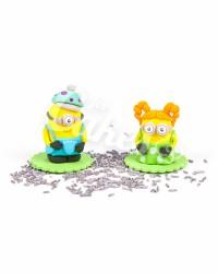Сахарные фигурки из мастики «Миньоны Мальчик и Девочка», Казахстан