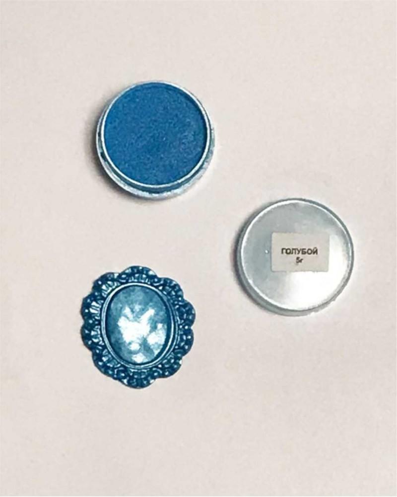 Кандурин - пищевые блестки, Цвет «Голубой»