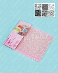 Текстурные пластиковые коврики «Цветочный узор», набор из 6 шт