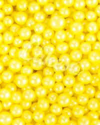Посыпка кондитерская «Жемчуг Светоло-Желтый 3 мм»