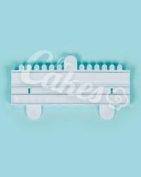 Штампик, пресс-форма для мастики «Бусы, Нить Жемчуга №2», Китай