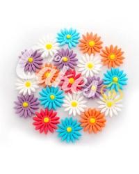 Сахарные цветы из мастики «Маргаритки средние», Казахстан