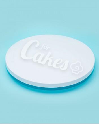 Поворотный столик для декорирования тортов, пластик, Италия