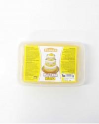 Мастика для моделирования «Paknar» цвет желтый, 1 кг