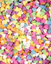 Посыпка кондитерская «Сердечки Разноцветные»