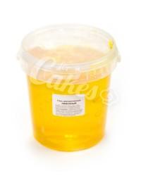 Гель кондитерский  «Лимон», Пакнар, для зеркальной поверхности кондитерских изделий, 1 кг