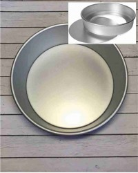 Алюминиевая форма для выпечки со съемным дном, 225х190х80 мм, 9inch