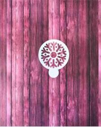 Трафарет-пленка для пряников, кофе «Снежинка», Китай