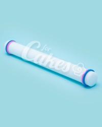 Скалка для мастики с ограничителями, 32 см