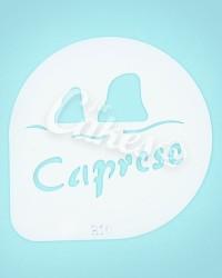Трафарет, утолщённый пластик «Каприз»