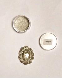 Кандурин - пищевые блестки, Цвет «Серебро»
