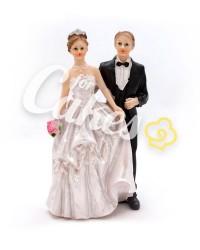 Керамические статуэтки Жениха и Невесты, 10626A