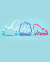 Вырубки для пряников, печенья набор «Для Маленькой Принцессы»