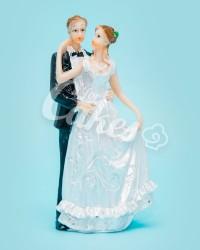 Керамические статуэтки Жениха и Невесты, 15403