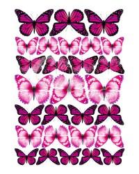 Вафельные картинки «Бабочки»