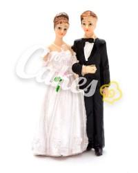 Керамические статуэтки Жениха и Невесты, 10939A