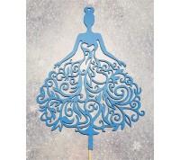 """Топпер """"Принцесса"""" односторонний, голубой"""