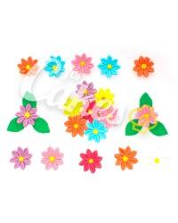 Сахарные цветы из мастики «Ромашки средние», Казахстан