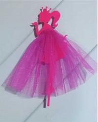 "Топпер ""Принцесса"",в розовом цвете"