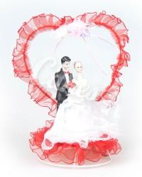 Керамические статуэтки Жениха и Невесты, HZ009